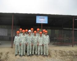 Ảnh anh em làm việc trên nhà máy Konishi - Quế Võ - Bắc Ninh